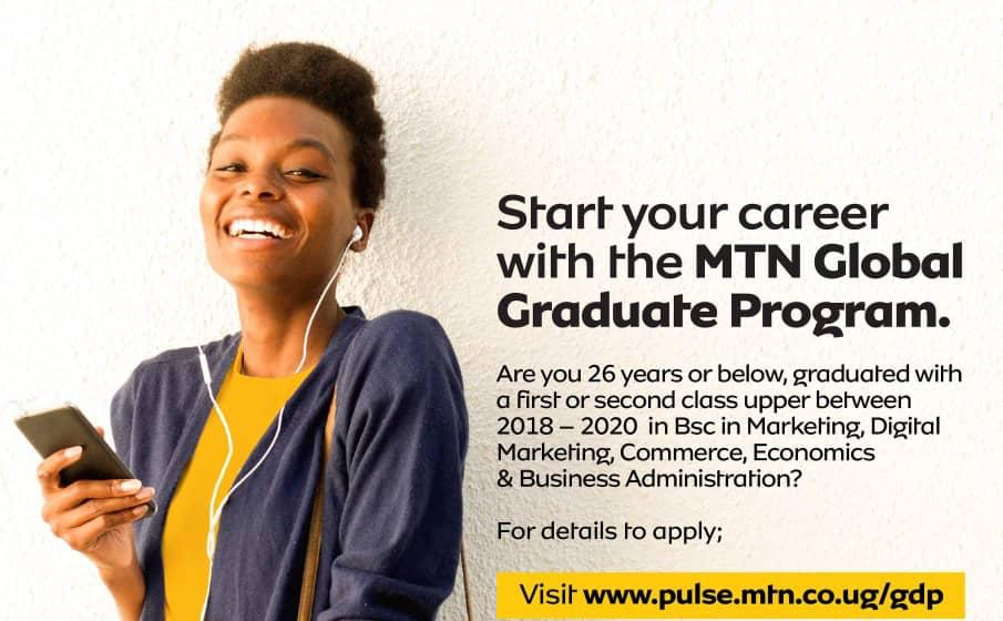 Career Opportunity at MTN Group as the telecommunications giant's 2021 Global Graduate Development Programme kicks off 1 MUGIBSON WRITES