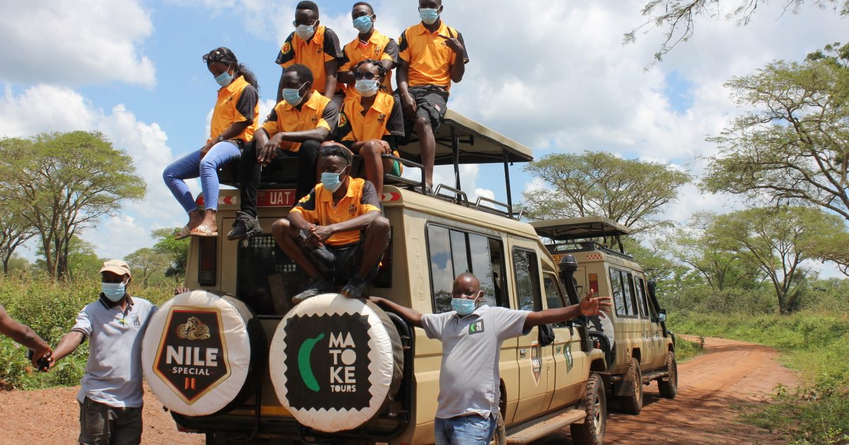 Maiden Winners of Nile Special's 'My Uganda My Nile Campaign' Enjoy Treat at Chobe Game Lodge 1 MUGIBSON WRITES