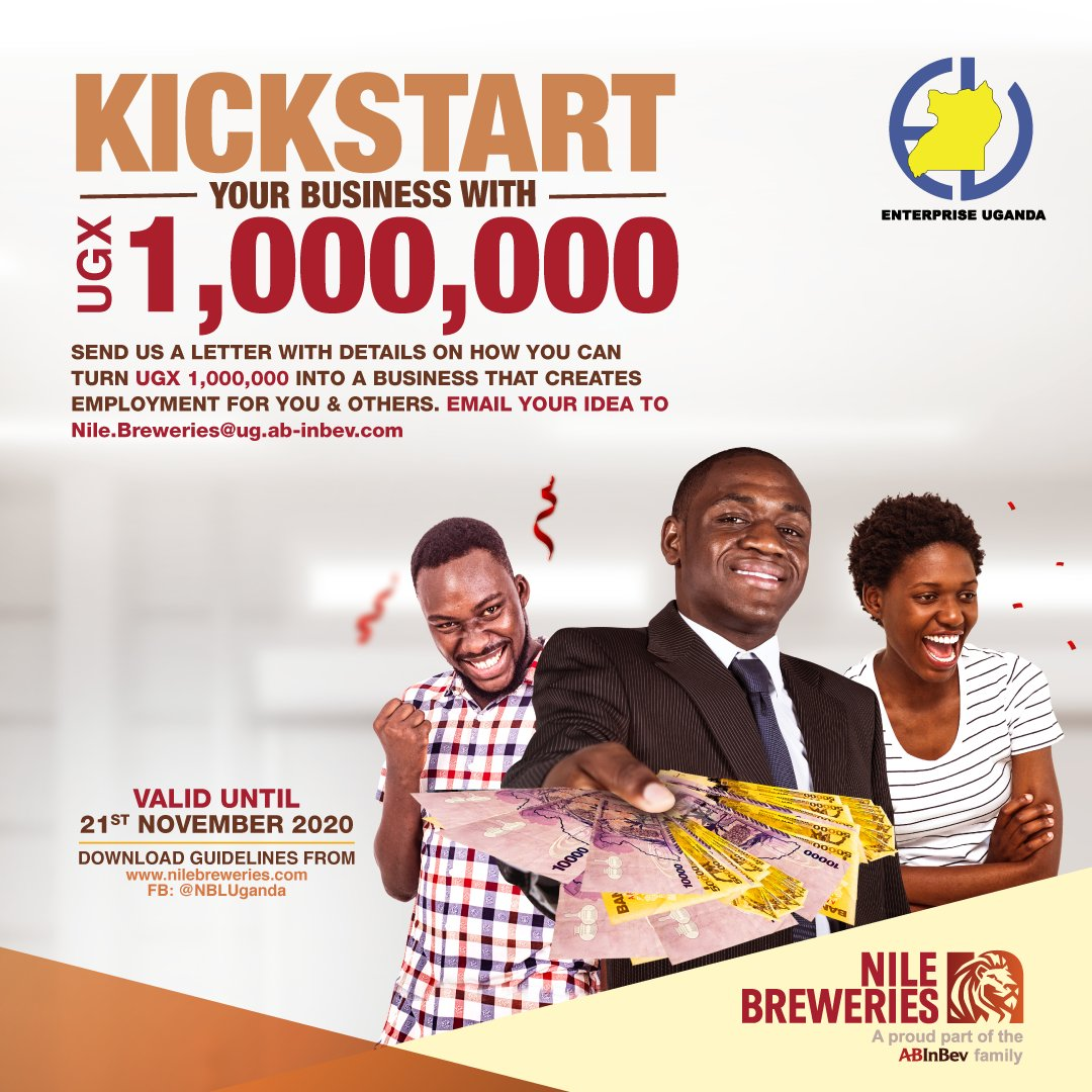 Nile Breweries and Enterprise Uganda launch 'Be A Millionaire' contest to fund SME Business Ideas 1 MUGIBSON WRITES
