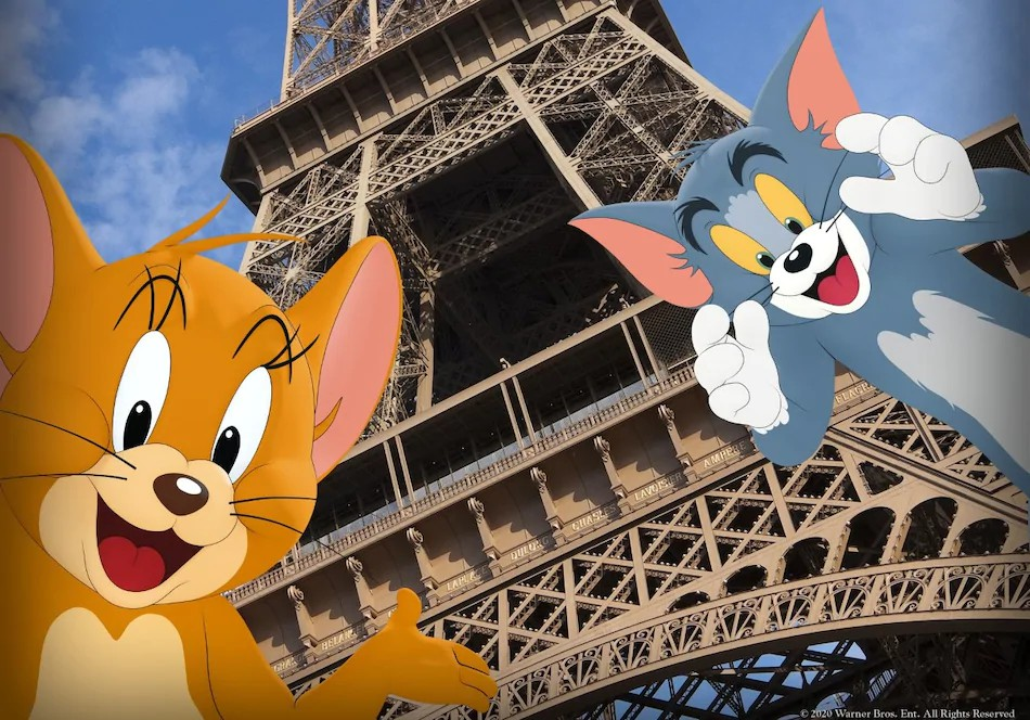 The cat and mouse chase about to begin as Warner Bros unveils trailer for upcoming Tom and Jerry Movie 1 MUGIBSON WRITES